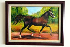 yağlı boya at | oil painted horse