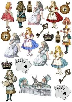 Alice In Wonderland Illustrations, Alice In Wonderland Clipart, Alice In Wonderland Original, Alice In Wonderland Printables, Alice In Wonderland Doll, Alice In Wonderland Characters, Go Ask Alice, Adventures In Wonderland, Mad Hatter Tea