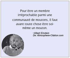 Citation de Albert Einstein - Proverbes Populaires Entrepreneur Quotes, Live Love, Albert Einstein, Ambition, Affirmations, Isaac Newton, Phrases, Messages, Thoughts