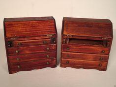 Vintage 1920's Tynietoy Winthrop Desks Dollhouse Miniature Furniture (2 desks)   eBay