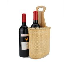 Tengtian Brand, Nantucket Basket, Red Wine Baskets, Gift Boxes of Red Wine, Woven Rattan, China Traditional Handicrafts, Casual Style, Natural Environmental Protection