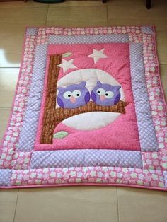 Super Baby Girl Quilts Owl 38 Ideas The Effective Pictures We Offer You About patchwork quilting bags A quality picture can tell you many things. You can find the most beautiful pictures that can be p Owl Baby Quilts, Patchwork Baby, Girls Quilts, Baby Owls, Patchwork Quilting, Applique Quilts, Quilts For Babies, Quilt Baby, Quilting Projects