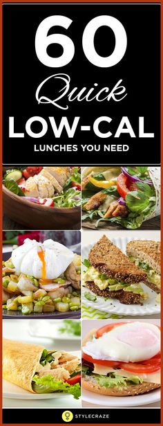 69 Low Calorie Lunch recipes that are both super-nutritional and delicious. And guess what? They are no more than 400 calories each.
