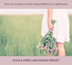 In this quick tutorial we walk through the process of creating a beautiful pastel effect in Lightroom. You can also download the effect as a free preset.