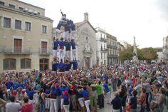Castellers de Berga - 5d6 - Vilafranca del Penedès 26/08/2012