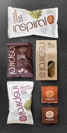 Inspiral package design by http://www.studioh.co.uk/