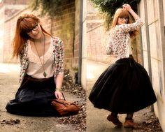 Vintage Floral Cardigan, Pink Floral Top, Vintage Skit, Vintage Boots