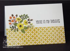 Stampin' Up! Into the Woods Note Card