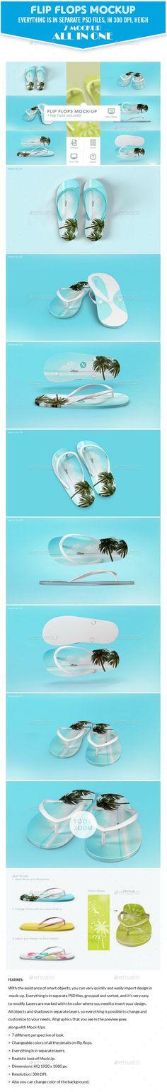 Smart Flip Flops Slipper Mockup. Download here: https://graphicriver.net/item/smart-flip-flops-slipper-mockup/17311030?ref=ksioks