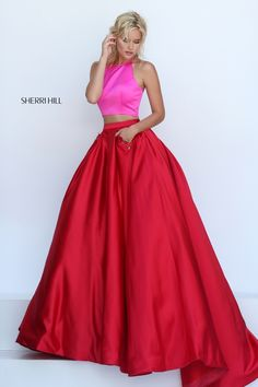 Sherri Hill 50219 ... I love outfits  like this! mix it up!