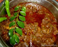 Beef Curry is quite popular in the Indian state of Kerala, this spicy curry tastes best with Kerala Porotta. This is a must try for red meat lovers. As cow being holy to Hindus, Ox or Buffalo meat ...