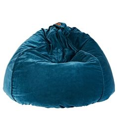 Teal Velvet Beanbag - Kip and Co - Brands Hunt for george $99