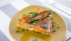 This Spanish-inspired recipe is easy to prepare and is a wonderful Tapas dish! The hosts of Good Chef Bad Chef put a healthy twist on a traditional Hispanic tortilla recipe by using sweet potatoes! Healthy Cooking, Cooking Recipes, Cooking Ideas, Food Ideas, Vegetarian Recipes Dinner, Dinner Recipes, Tapas Dishes, Tortilla Recipe, Best Chef