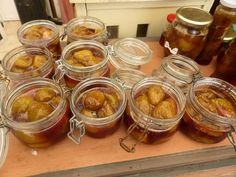 CONSERVES DE FIGUES - PASSION POTAGER Food Test, Muffin, Food And Drink, Breakfast, Desserts, Passion, Biscuits, Sweets, Mason Jar Meals