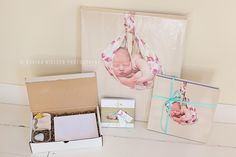 Photography client order packaged and ready to go!  Perfect, simple presentation.