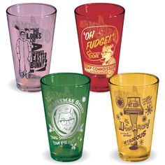 A Christmas Story Movie – Collectible Tinted Pint Bar Glasses so getting these for Travis! Classic Glassware, Christmas Story Movie, Pint Of Beer, Cool Glasses, Beer Mugs, Personalized Mugs, Movie Collection, Christmas Activities, Tis The Season