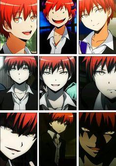 Many faces of Karma Akabane♡