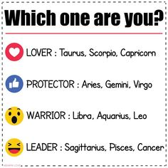 Which one are you? PISCES!!!!!