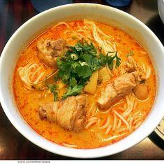 kao poun at Vientian Cafe
