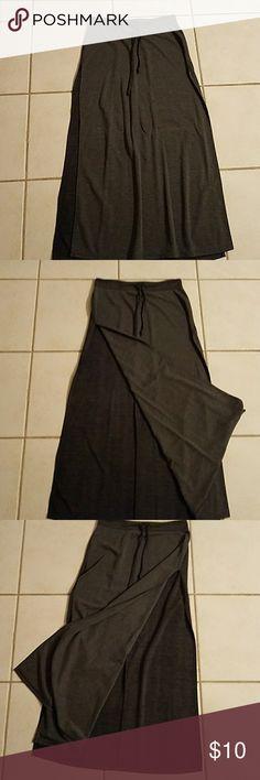High slit long skirt High slit long skirt Rue 21 Skirts