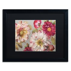 Classically Beautiful I by Lisa Audit Matted Framed Painting Print