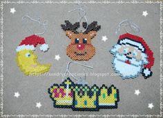 SanDryCreaciones: Adornos para el Árbol de Navidad en Hama Beads Min...