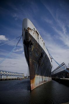 SS United States - Photography by Jessica Berlin