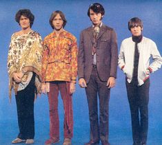 the Monkees Here we come... Walkin' down the street... Get the funniest looks from.. everyone we meet. Hey! hey! we're the Monkeys. Come and watch us sing and play. We're the young generation, and we've got something to say.....