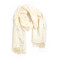 Pre-owned Tolani Scarf Size 00: Beige Women's Accessories ($21) ❤ liked on Polyvore featuring accessories, beige and tolani