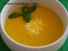 Pikantní dýňová polévka se sušenými rajčaty - Naše Dobroty na každý den Thai Red Curry, Fruit, Ethnic Recipes, Food, Essen, Meals, Yemek, Eten