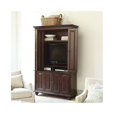 Slim Chadwick Media Armoire | Lighting | Ballard Designs