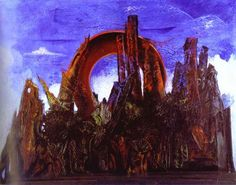 The Embalmed Forest - Max Ernst - WikiArt.org