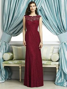 Mother of the bride option -  in red - Dessy Collection Style 2940
