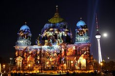 Festival of Lights in Berlin, Germany