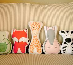 The Cutest Animal Pillows for the Nursery