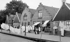 Laundry Line, Amsterdam, Holland, 1937.  LoC image at http://www.shorpy.com/node/12067