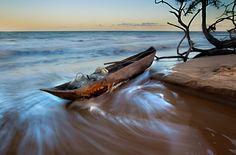 Praia Marimbu,  Prado BA, Brasil - By Araquém Alcântara