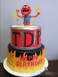 #Muppets #animal #drum #30th birthday #cake | Blue Note Bakery - Austin, Texas