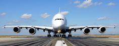O A380 só perde em tamanho e peso para o enorme cargueiro Antonov AN-225 (Foto - Airbus) Airbus A380 – US$ 428 milhões