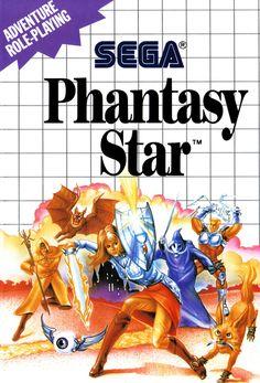 A4 Sega Master System Game Poster  Phantasy Star (Picture Print Gaming Art) #ebay #Home & Garden