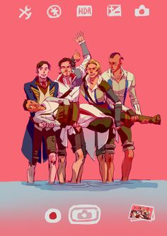 Love the expressions. Ed is so into it, Altaïr is uncertain, and Connor is concerned. Assassins Creed Memes, Assassins Creed Black Flag, Assassins Creed Odyssey, All Assassin's Creed, Funny Naruto Memes, Fandoms, Cultura Pop, Arno Dorian, Funny Stuff