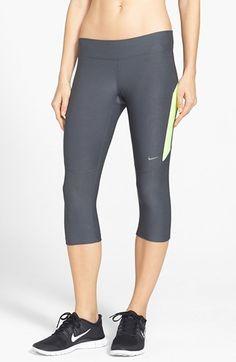 7daf902a3 Nike 'Filament' Capri Tights Fitness Fashion, Fitness Style, Sportswear,  Capri Pants