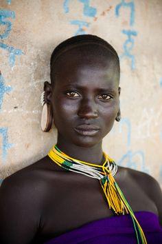 Surma woman - Omo Valley, Ethiopia