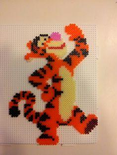 Tigerdyret fra Peter plys - mini Made by Pia Petrea