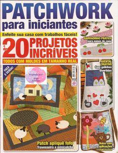 168 Patchwork para Iniciantes n. 2 - maria cristina Coelho - Álbuns da web do Picasa