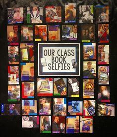 Book selfies