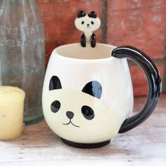 Pandamonium Mug Spoon Set $23.99