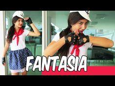 Como fazer uma fantasia de Marinheira - YouTube