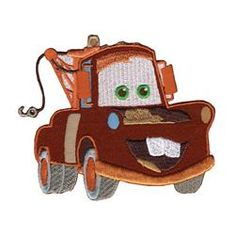 Wrights 111302 Disney Cars Mater Iron-On Applique - how to get posts Disney Applique, Baby Applique, Iron On Applique, Disney Cars, Baby Disney, Disney Trips, Disney Travel, Animation Types, Car Accessories Diy