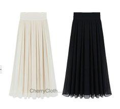 Black Chiffon Maxi Dress Maxi Skirt Summer Long Skirt, Summer Beach Dress